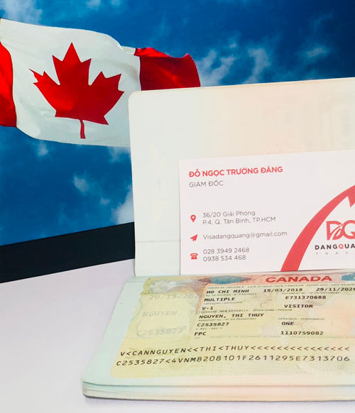 Thủ tục visa canada