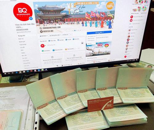 dịch vụ visa du lịch Hàn Quốc